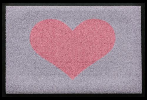 Fußmatte Herz