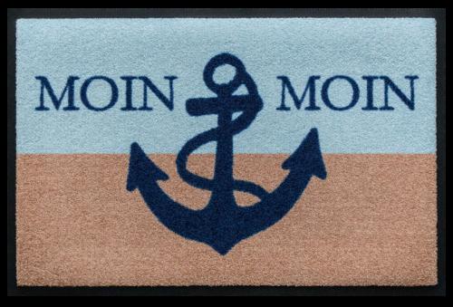 Fußmatte Moin Moin Anker