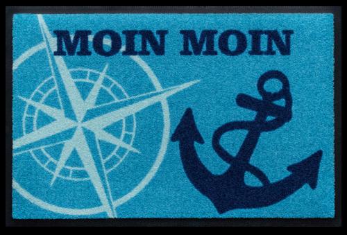 Fußmatte Moin Anker Kompas