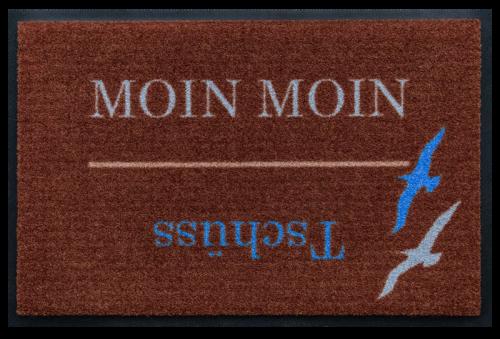 Fußmatte Moin Moin Voegel