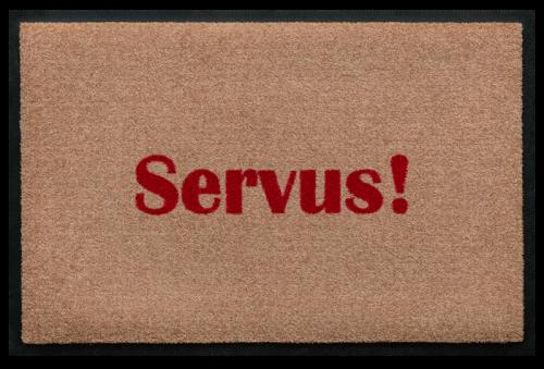 Fußmatte Servus!