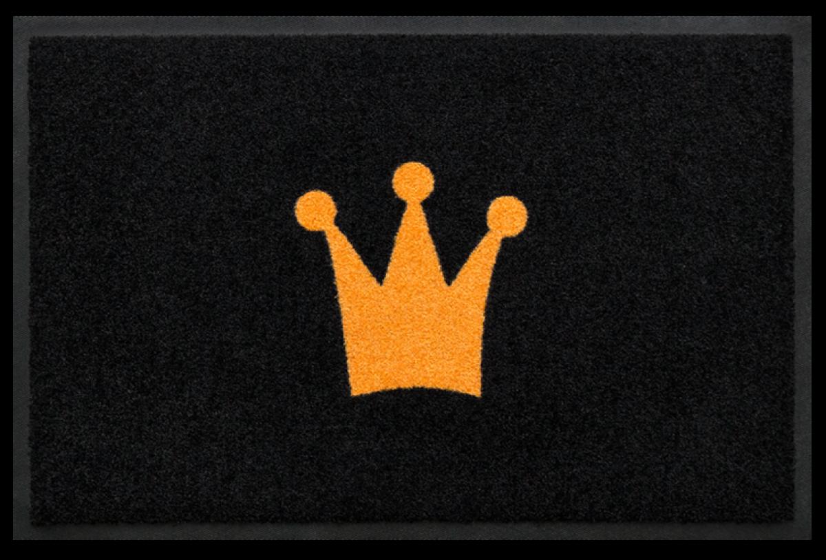 Fußmatte Krone
