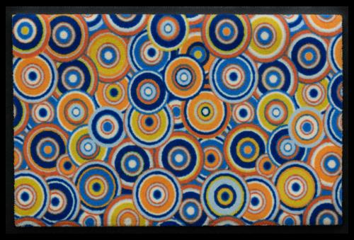 Fußmatte Psychedelische Kreise