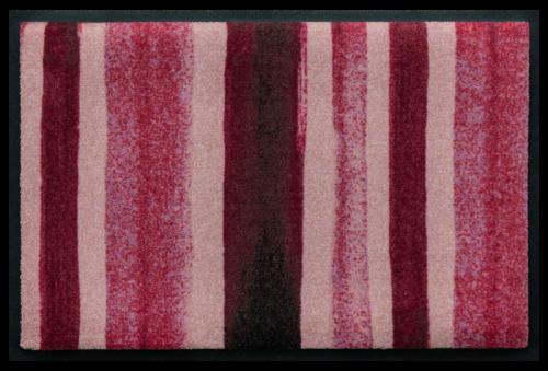 Fußmatte Blockstreifen Rot