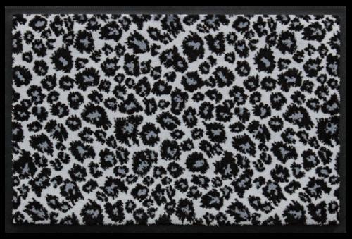 Fußmatte Matte mit Leo-Print 3