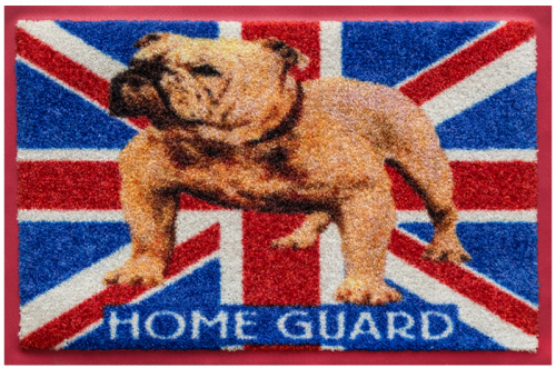 Fußmatte Englische Bulldogge