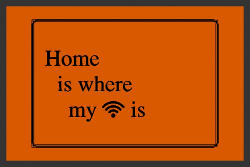Fußmatte Home