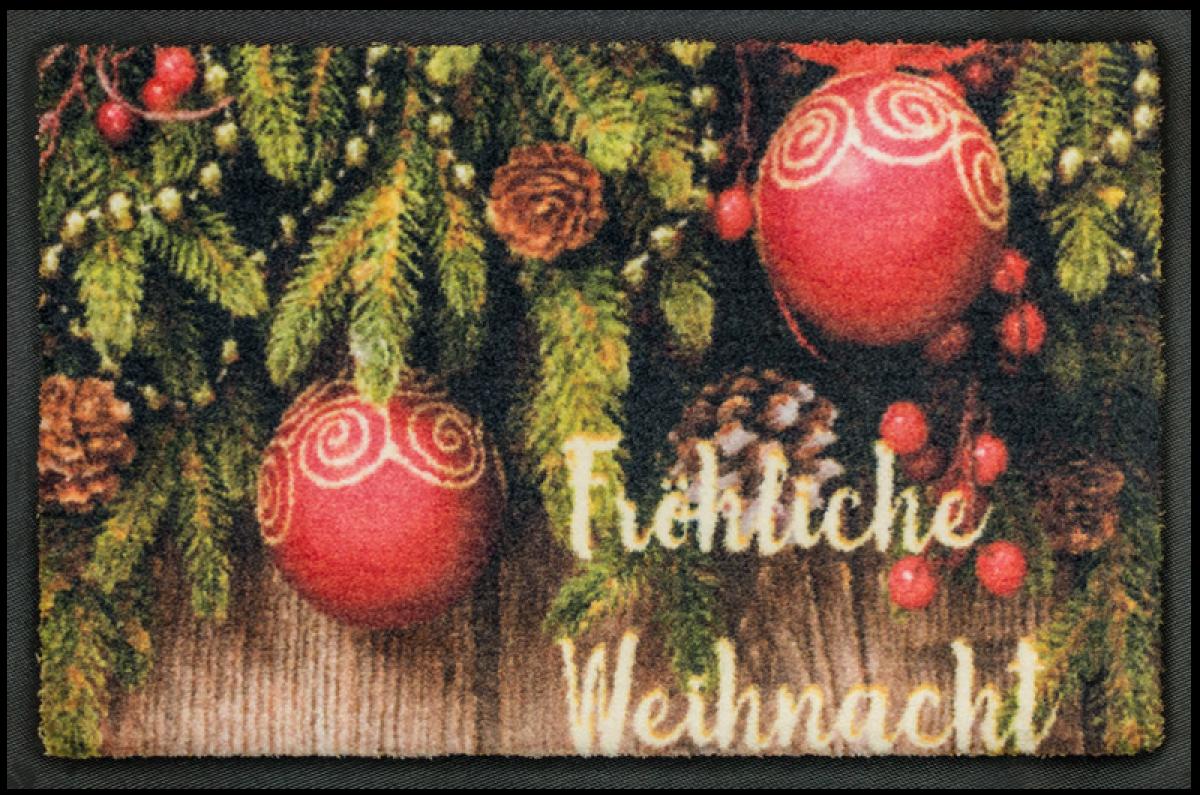 Fußmatte Weihnachten 02