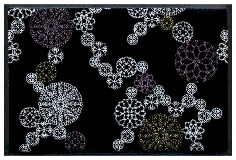 Fußmatte Kaleidoskop