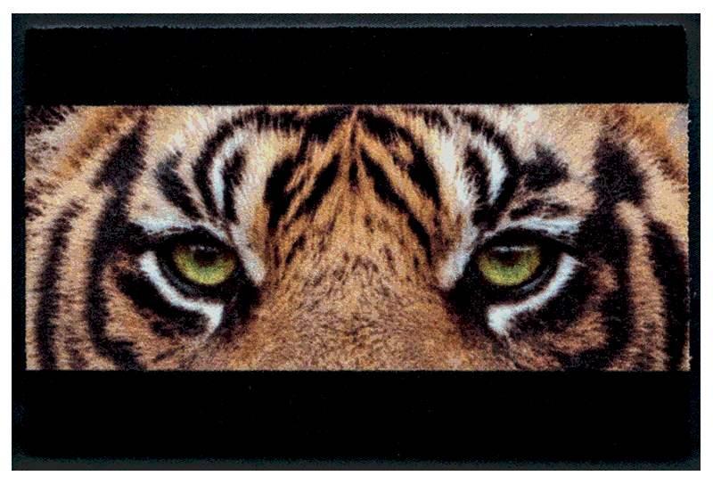 Fußmatte Tiger Augenpaar