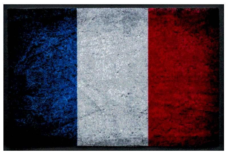 Fußmatte Frankreich Vintage