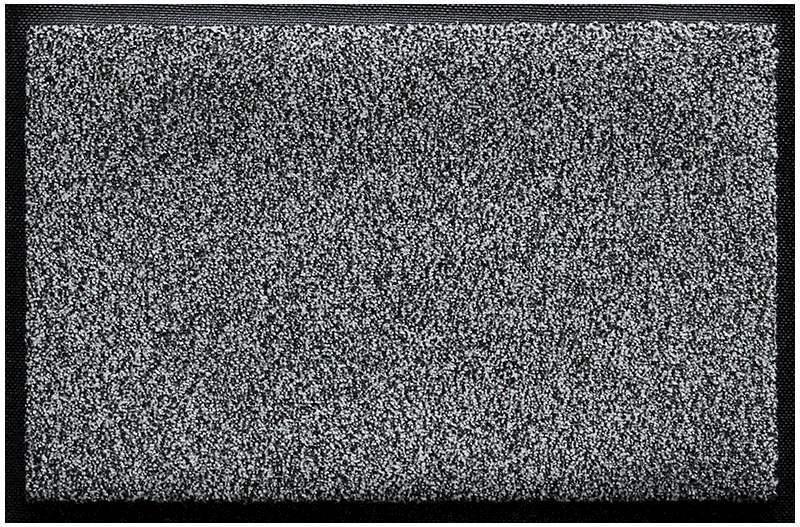 Fußmatte Topas schwarz-weiß