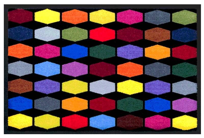 Fußmatte Bunte Geometrie