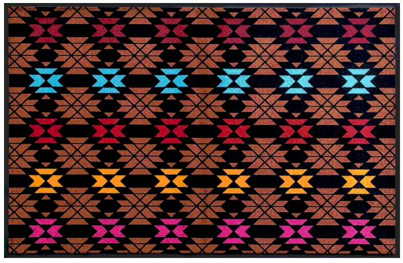 Fußmatte Indianisches Webmuster