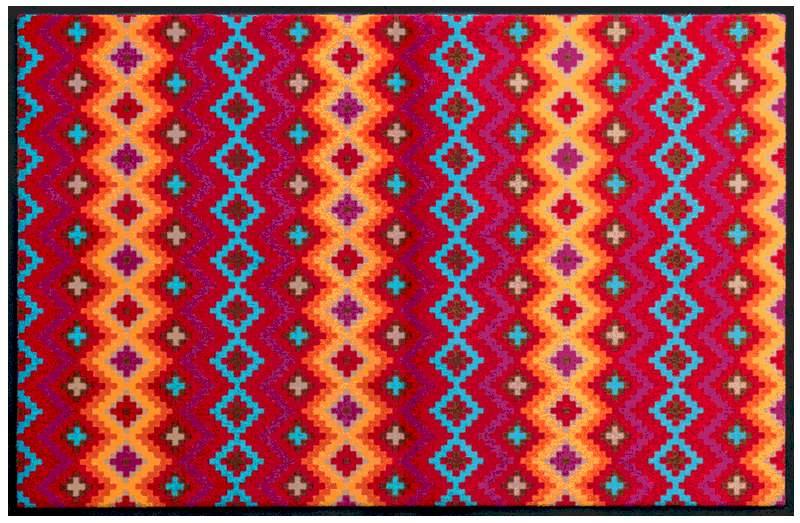 Fußmatte Indianermuster 1