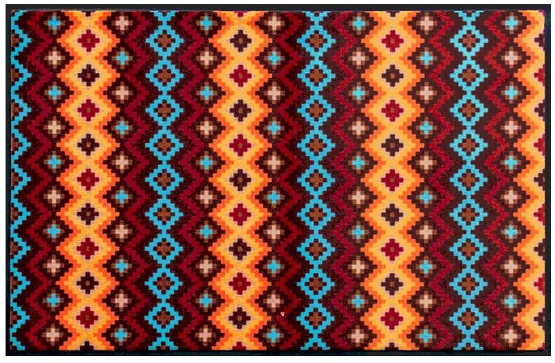 Fußmatte Indianermuster 2