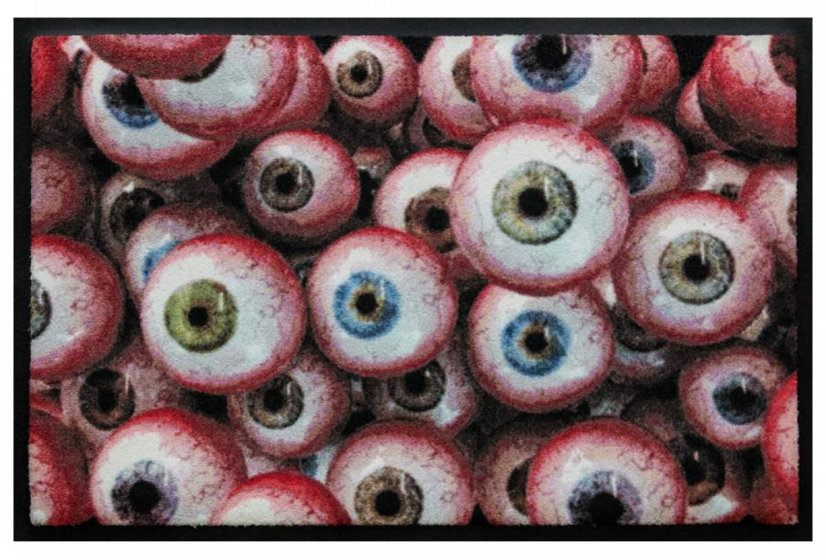 Fußmatte Pupillen