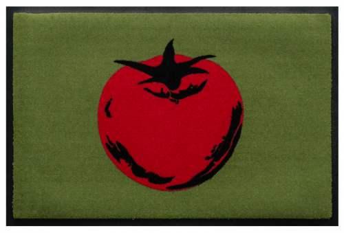Fußmatte Pop Art Tomate rot