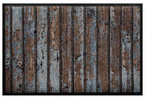 Fußmatte Holzlatten 1
