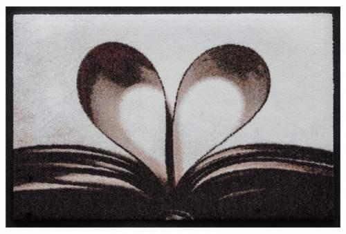 Fußmatte Herz 2