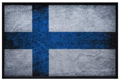 Fußmatte Finnland Vintage