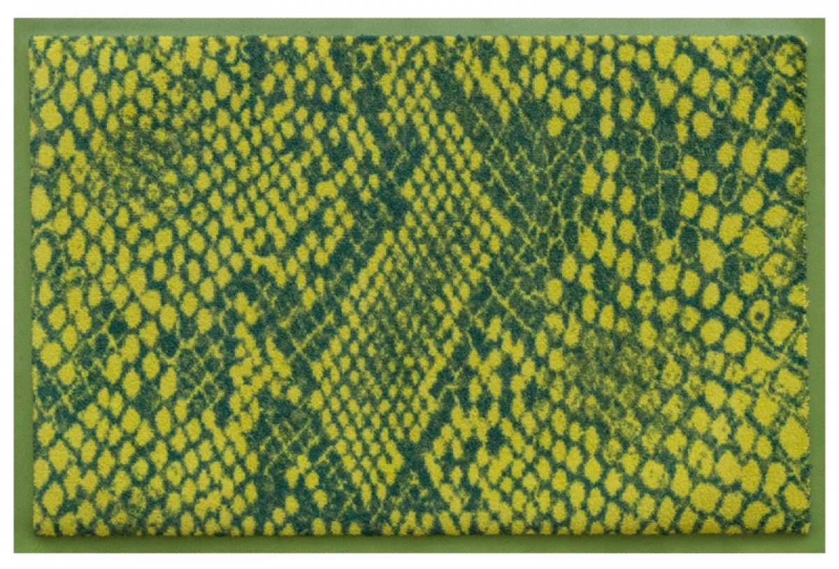 Fußmatte Schlange grün