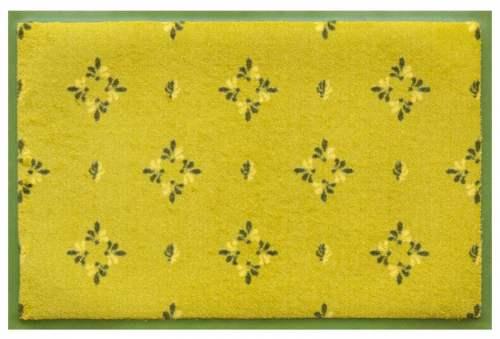 Fußmatte Zitronengelb