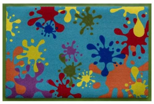 Fußmatte Farbklekse 1