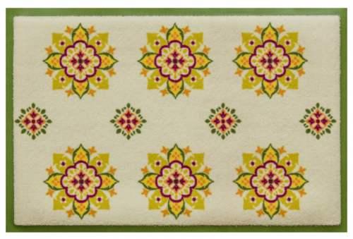 Fußmatte Küchenkacheln gelb
