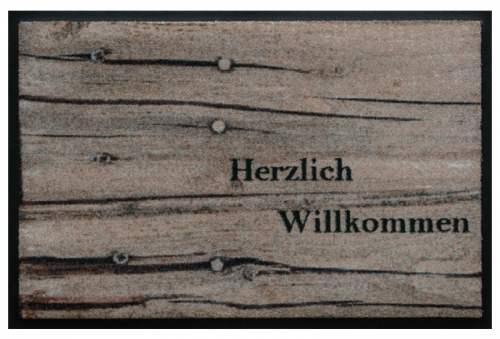 Willkommen Holz