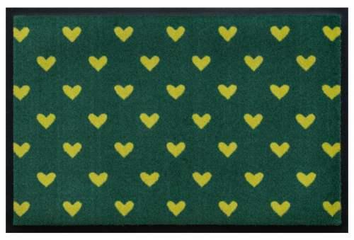 Gelbe Herzen