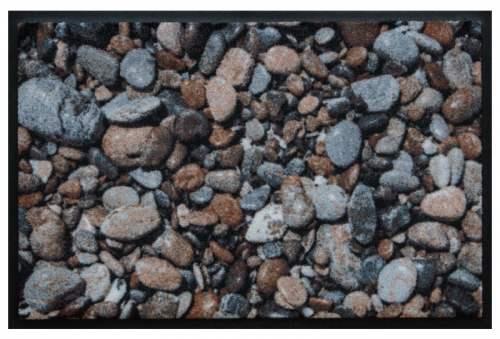 Fußmatte Kieselsteine 3