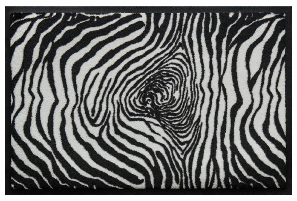 Fußmatte Zebrafell