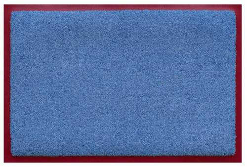 Fußmatte Prime Color Hellblau⁄Rot