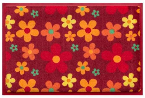 Fußmatte Flowerpower 3