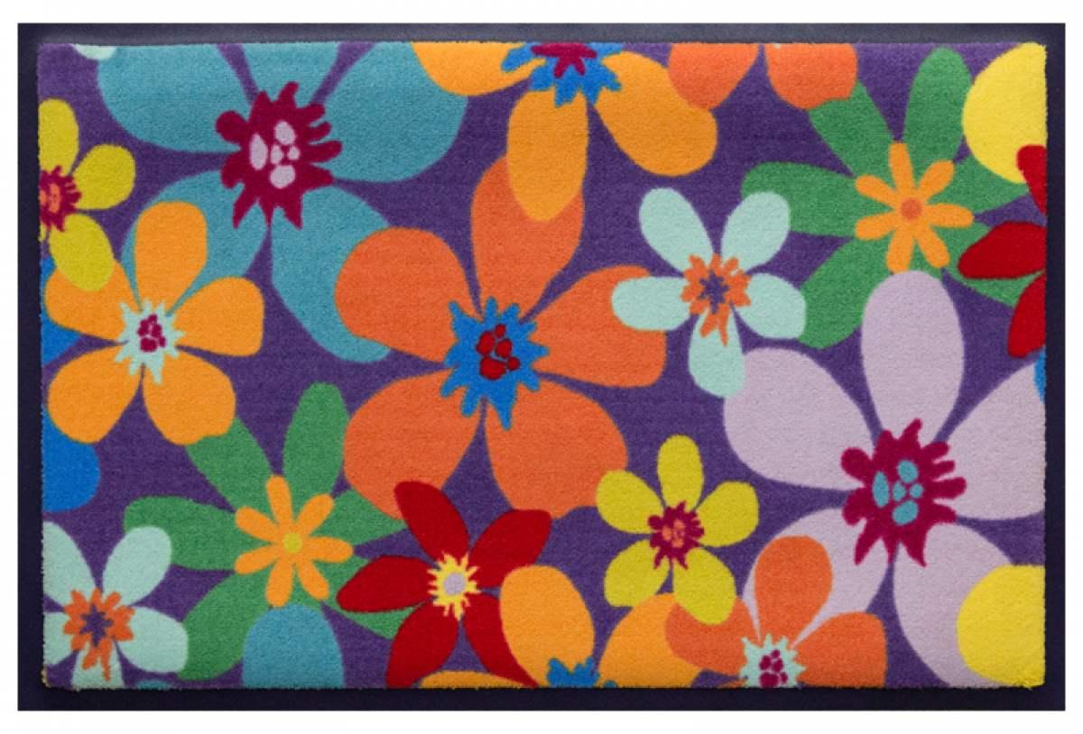 Fußmatte Flowerpower 5