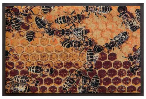 Fußmatte Bienenwabe