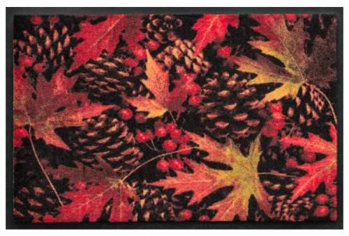 Fußmatte Herbstlaub 3