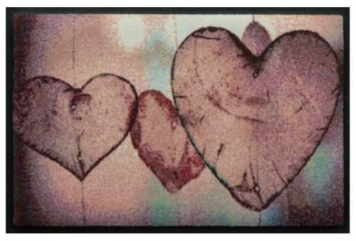 Fußmatte Herz 3