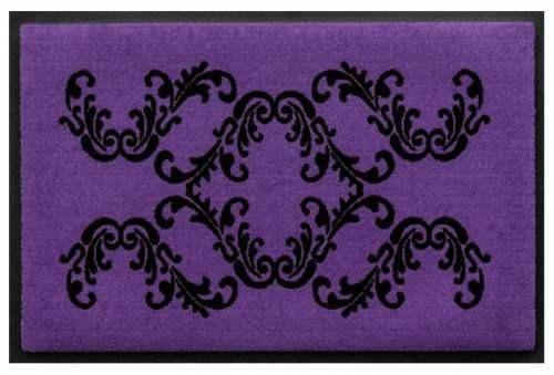 Fußmatte Neobarock Violett