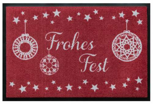 Frohes Fest Rot