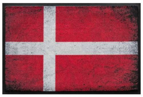 Fußmatte Dänemark Vintage