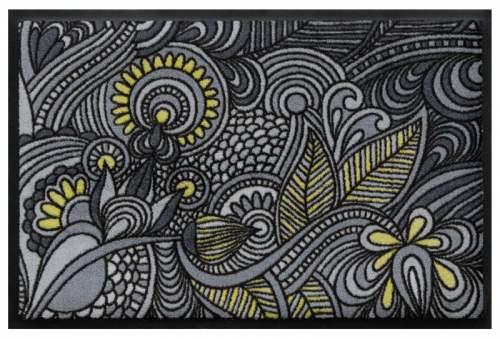 Fußmatte Blütenmandala 2
