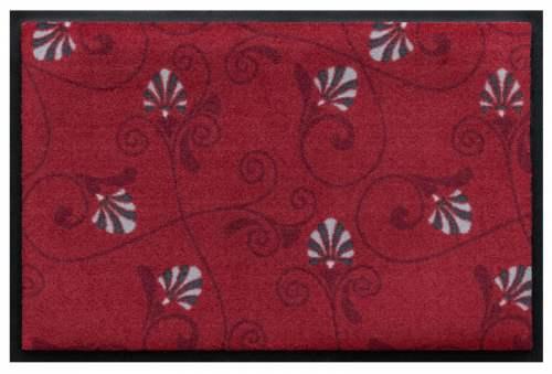 Fußmatte Blumenranken grafisch