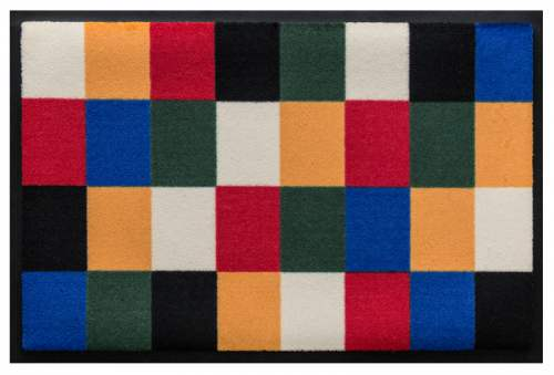 Fußmatte Farben Raster