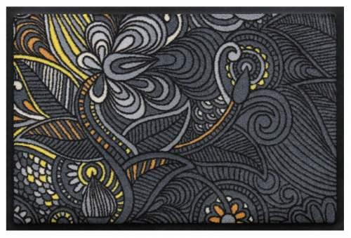Fußmatte Blütenmandala 3