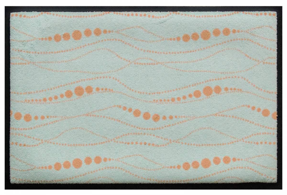 Fußmatte Perlenlinien
