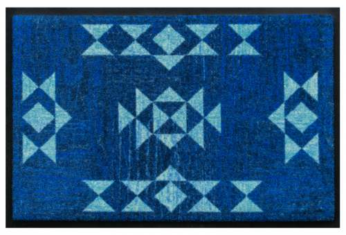Fußmatte Kobaltblau