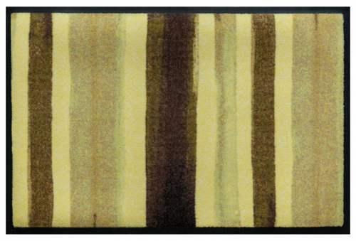 Fußmatte Blockstreifen Oliv