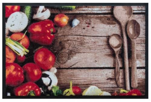 Fußmatte Küchenmotiv